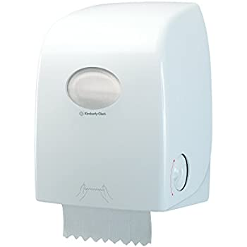 Aquarius 6959 Dispensador de Toallas Secamanos en Rollo, Blanco