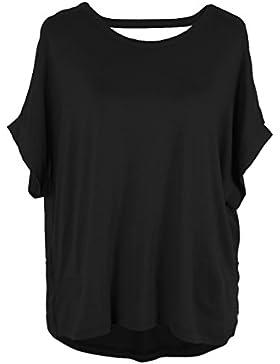 Emma & Giovanni Tshirt/Blusa con Espalda Abierta + Arco - Mujer