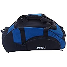 Stag Duffel Gym Bag with Sipper, Towel and Socks