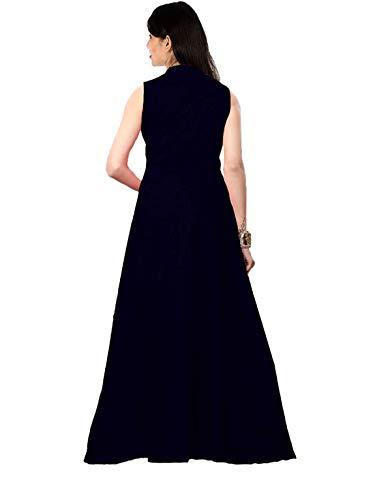 ROYAL TAYLOR Women's Reyon Cotton V-Neck Long Sleeve Stretchy Dresses