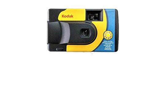 Kodak Einweg-Kamera suc Daylight 39800iso-Analoges, gelb und blau