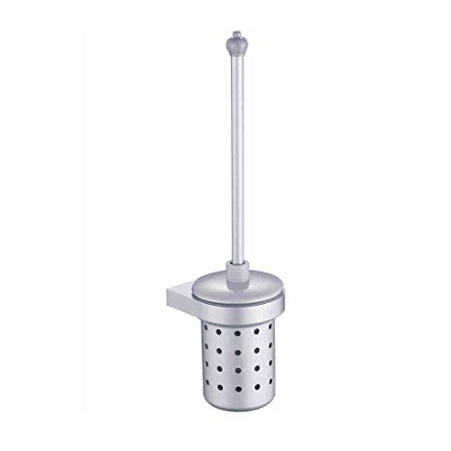 &brosse de toilette Brosse de toilette de salle de bains Brosse de nettoyage Creative Space Aluminium Tasse de toilette en aluminium