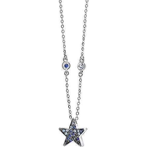 Comete collana stella san loenzo oro bianco glb 890