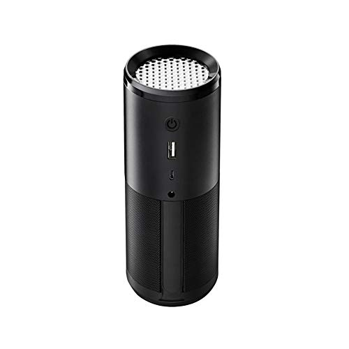 WYYHAA Anionen-Luftreiniger Mit HEPA-Filter, Mini-Luftreiniger Aroma Diffuser Captures PM2.5, Rauch, Haustiergerüche, Schimmel Und Staub Für Den Persönlichen Gebrauch in Auto, Büro & Zuhause