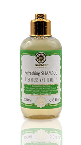SAULES FABRIKA Naturkosmetik Bio-Shampoo Vitaminenreich Aufbau-Shampoo (Refreshing/Freshness + Tonicity)