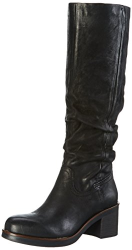 Mjus Damen 164316-0201-6002 Kurzschaft Stiefel Schwarz (Nero)