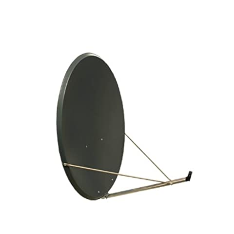 Antenne PremiumX XTS 110 cm Stahl Digital Sat Schüssel Spiegel in Anthrazit FULLHD HDTV 3D