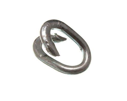 Recinzione di riparazione Link 8mm 5/40,6cm zincato resistente alle intemperie (confezione da 200)