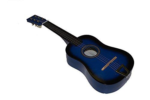 Imagen de juguetutto   gr. azul. con esta  de madera grande niños de todas las edades se aficionaran a la música y a este precioso instrumento muy español