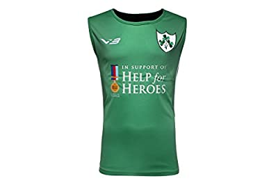 Help for Heroes Ireland Rugby Vest from VX-3