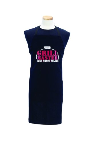 Ritz 1892 Barbeque Grill Apron, 'Grill Master: The Man, The Myth, The Legend'