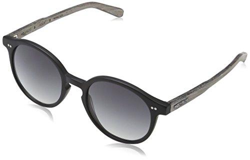 Wood Fellas Unisex Solln Sonnenbrille, Schwarz (black/grey 5108), Herstellergröße: one Size