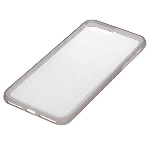Generic Anti Gravity Silikon Handyhülle Handytasche Handy Schutzcase für iPhone - Für Iphone 7 Grau Für iPhone 7 plus Grau