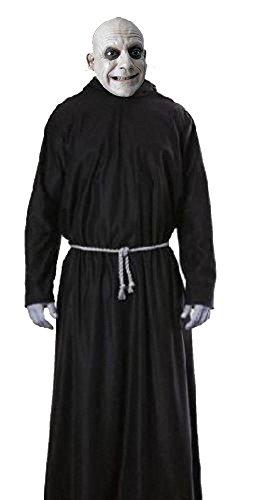 Damen Schwarz Morticia die Addams Familie Halloween (Wednesday Die Kostüme Addams Family)