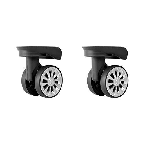 Ersatz Dämpfer 360° Wirbelndes Kofferrad Gepäck Zubehör Laufräder Gepäck Rad Ersatzteile Spinner Zhhlinyuan