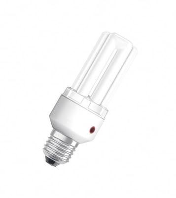 Osram 61739B1 Dulux El Sensor Sockel E27 Energiesparlampe mit Dämmerungsschalter 15W/827, warmweiß von Osram auf Lampenhans.de