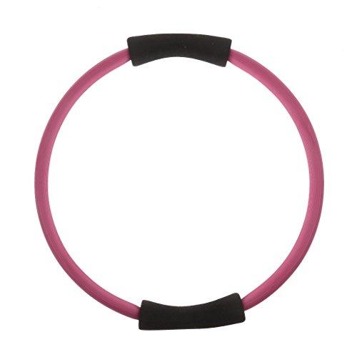 Pilates-Traingsgerät Pilates Ring Circle Yoga Fitness Kräftigungstraining - Rosa, L