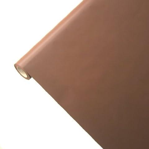 Junopax - Tovaglia di carta, marrone cioccolato,