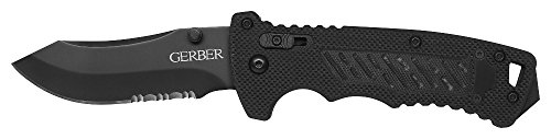 Gerber DMF Folder Modified Clip Point lame crantée