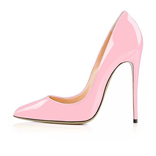 uBeauty - Scarpe da Donna - Scarpe col Tacco - Classiche Scarpe col Tacco - Scarpe Colorate Rosa D