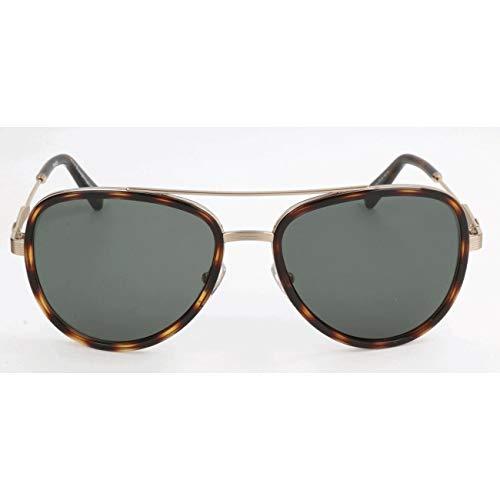 Ermenegildo Zegna Herren EZ0008 Sonnenbrille, Braun, 59