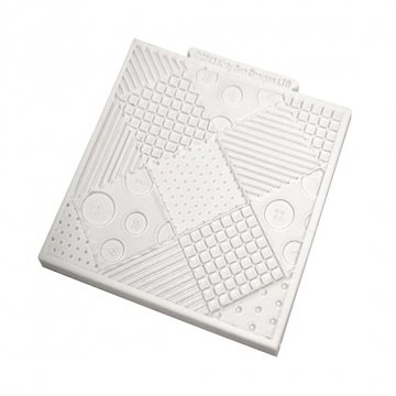 patchwork-quilt-4-x-4-silicone-design-mat-for-cake-decorating-cupcakes-sugarcraft-and-candies