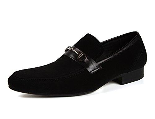 Chaussures En Cuir Pour Hommes Chaussures En Cuir Pour Hommes Avec Bout Pointu En Cuir Business Casual (couleur: Noir, Dimensions: Eu42 / Uk7.5) Noir