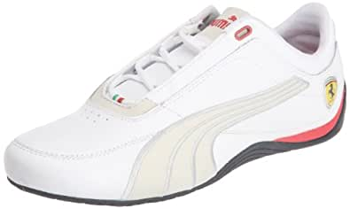 Puma Drift Cat 4 SF Carbon 304189, Herren Sportive Sneakers, Weiss (white-rosso corsa 01), EU 41 (UK 7.5) (US 8.5)