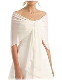 Coco Girls gasa estola bufanda para ropa en diferentes colores a cualquier vestido de novia -