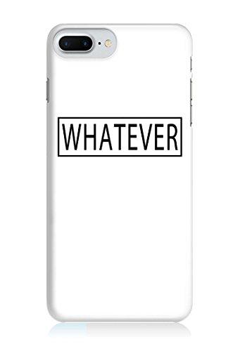 COVER quote Spruch WHATEVER WEISS Handy Hülle Case 3D-Druck Top-Qualität kratzfest Apple iPhone 6 / 6S
