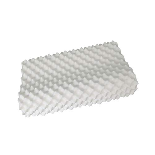 JSX Almohada de látex Natural en Forma de jabón 60 * 36 * 10 * 12 cm...