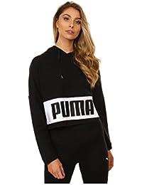 Puma Cotton Black Urban Sports Hoody