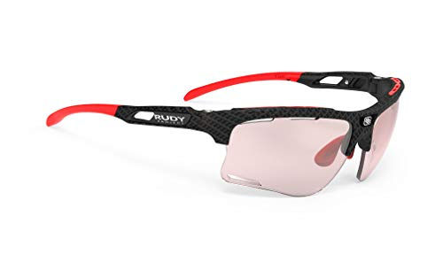Rudy Project Keyblade Sportbrille - Carbonium/Impactx Photochromic 2 Red