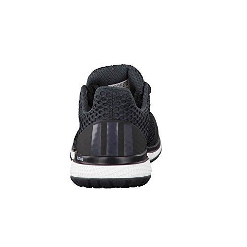adidas Energy Bounce 2 W, Scarpe da Corsa Donna Multicolore (Negro / Gris / Rojo (Negbas / Griosc / Brisol))