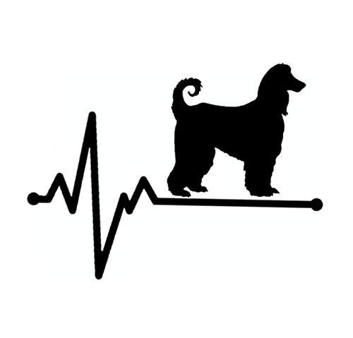 Auto autoaufkleber aufkleber Lifeline Dog Groomer Heartbeat