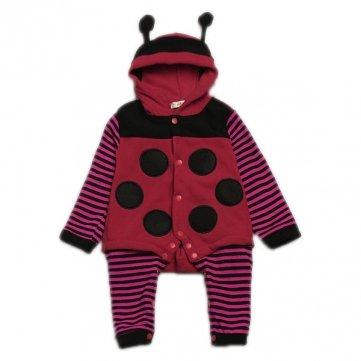 Mutterschaft, Baby Strampelanzug (Tanzimarket Baby Strampler/Strampelanzug, Marienkäfer, Bienen-Motiv, mit Kapuze, 2-24 Monate)