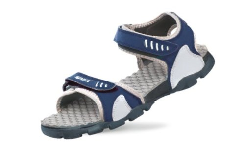 Sparx Men's Navy Blue and Light Grey Athletic and Outdoor Sandals - 8 UK/India (42 EU)(SS-103)  available at amazon for Rs.543