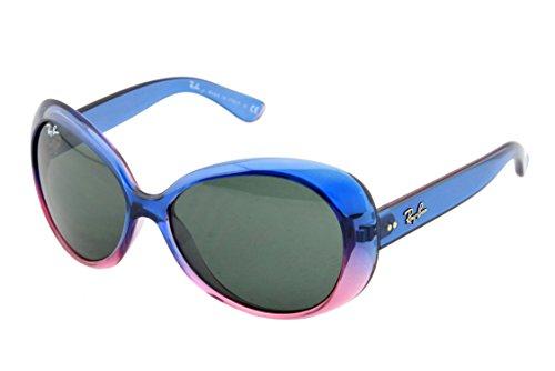 Ray Ban Mädchen Sonnenbrille Junior 9048S 175/71, Gr. One Size, Mehrfarbig(blau/rosa)