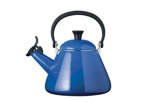 Le Creuset Kone Kettle with Whistle, 1.6 L - Marseille Blue