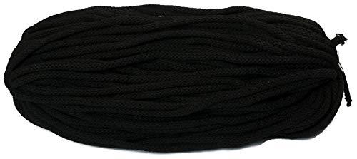 BW-Kordel, 50 Meter, 6mm dick mit Kern, 26-Schwarz