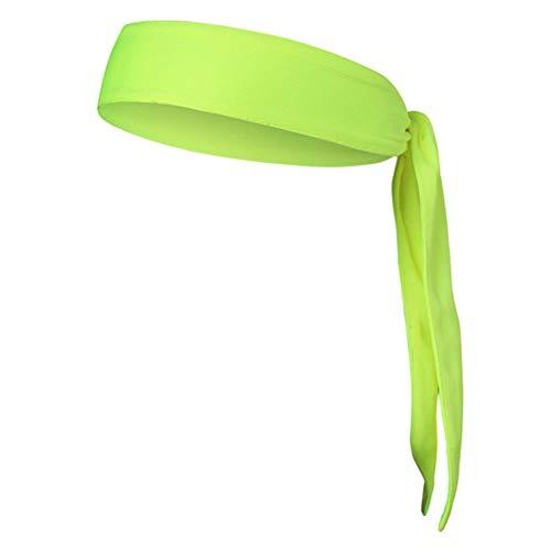 Stirnbänder Krawatte am Stirnband für Herren Damen Sportliches Haar Stirnband Elastischer Sport Schweiß Basketball Schweißband Yoga Workout Schweißbänder Einstellbare (Männer Hippie-stirnbänder Für)