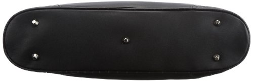 Bugatti Bags Charlotte, 88336101, Damen Shopper, Schwarz (schwarz 01), 43x25x8 cm (B x H x T) Schwarz (schwarz 01)