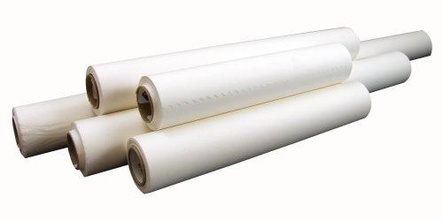Weisses Transparentpapier - 45,5 Meter Rolle - 45 cm breit