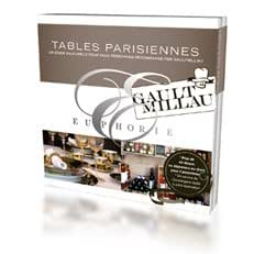 Coffret Cadeau Euphorie - Tables parisiennes
