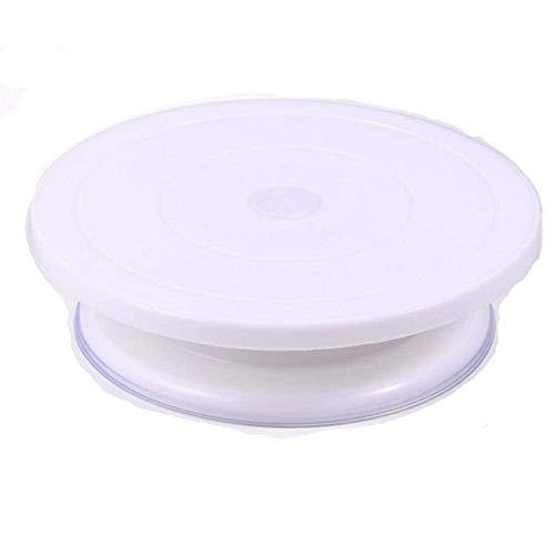 Torta turn table supporto rotante glassa espositore girevole da tavolo torta attrezzo con bordo antiscivolo