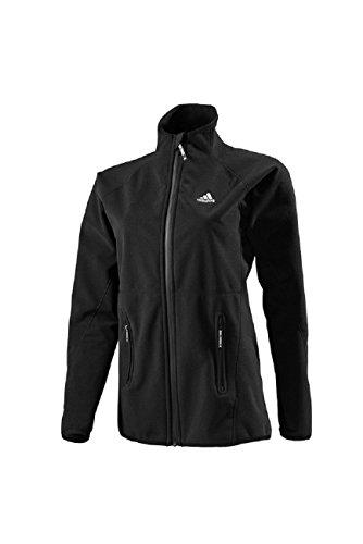 adidas Sailing Damen Windproof Fleece Jacket Fleecjacke, Größe:2XL, Farbe:black