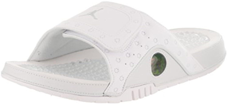 NIKE Mens Hydro XIII Retro White Metallic Metallic Metallic Silver Synthetic Sandals 44 EU | Ideale economico  | Nuovo Stile  | Uomini/Donne Scarpa  | Uomini/Donna Scarpa  | Uomini/Donne Scarpa  8e4098