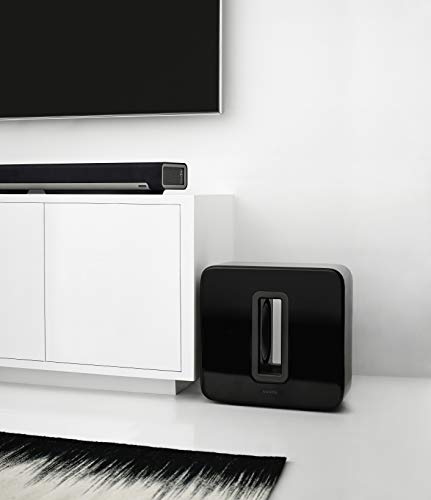 Sonos SUB I Subwoofer für das Sonos Smart Speaker System (schwarz) - 5