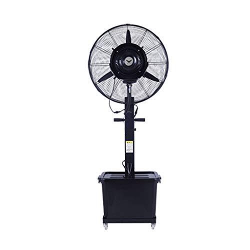 ZRN-Lüfter Lager Beschlagen Fan Cool High Power Metall Oszillierende Nebel Fan Kühlung Indoor/Outdoor Einstellbare Geschwindigkeit Wassertank Rad Luftumwälzpumpe (71 cm) 220V / 50Hz - Fan-lager Lüfter