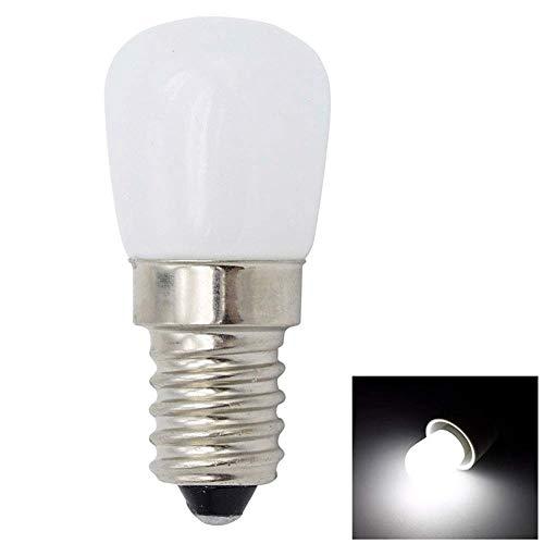 paletur88 Licht LED Glühbirne E12 E14 Flur Energiesparende Anhänger Möbel Schreibtisch Augenklappe Home Glas Hell Zubehör Display Büro Kühlschrank (E12Warm Weiß) - Kaltweiss, e12 - Glühbirne Aus Glas Anhänger